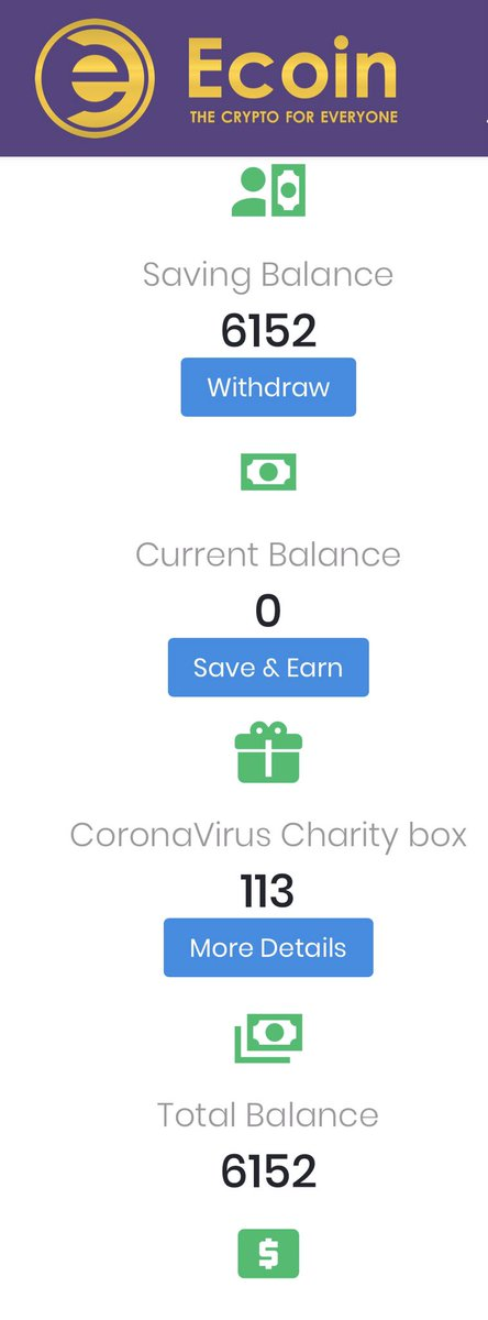 Not only can you get 750 free Ecoin, they will donate 15% towards #Coronavius relief with ever new person that opens a free account. https://ecoinofficial.org/referral/n4yldm0… - #Ecoin #CryptoNews pic.twitter.com/oNzPK4jEIl