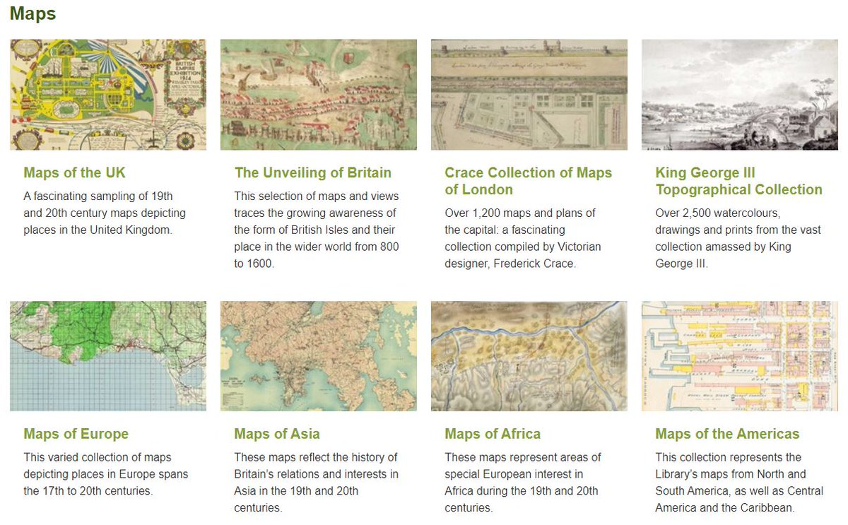 Although our @britishlibrary buildings are not open at present, we look forward to sharing some #digitised and born-digital collections for #Archive30 month...  Day 1: an overview of digital collections, including plenty of maps🗺️💻  #YourArchive #BLIsOpen