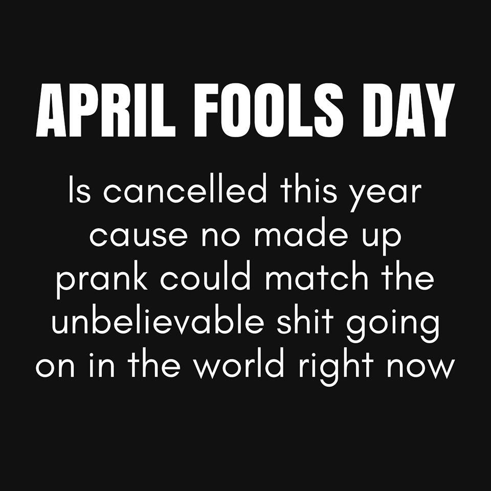 #AprilFoolsDay