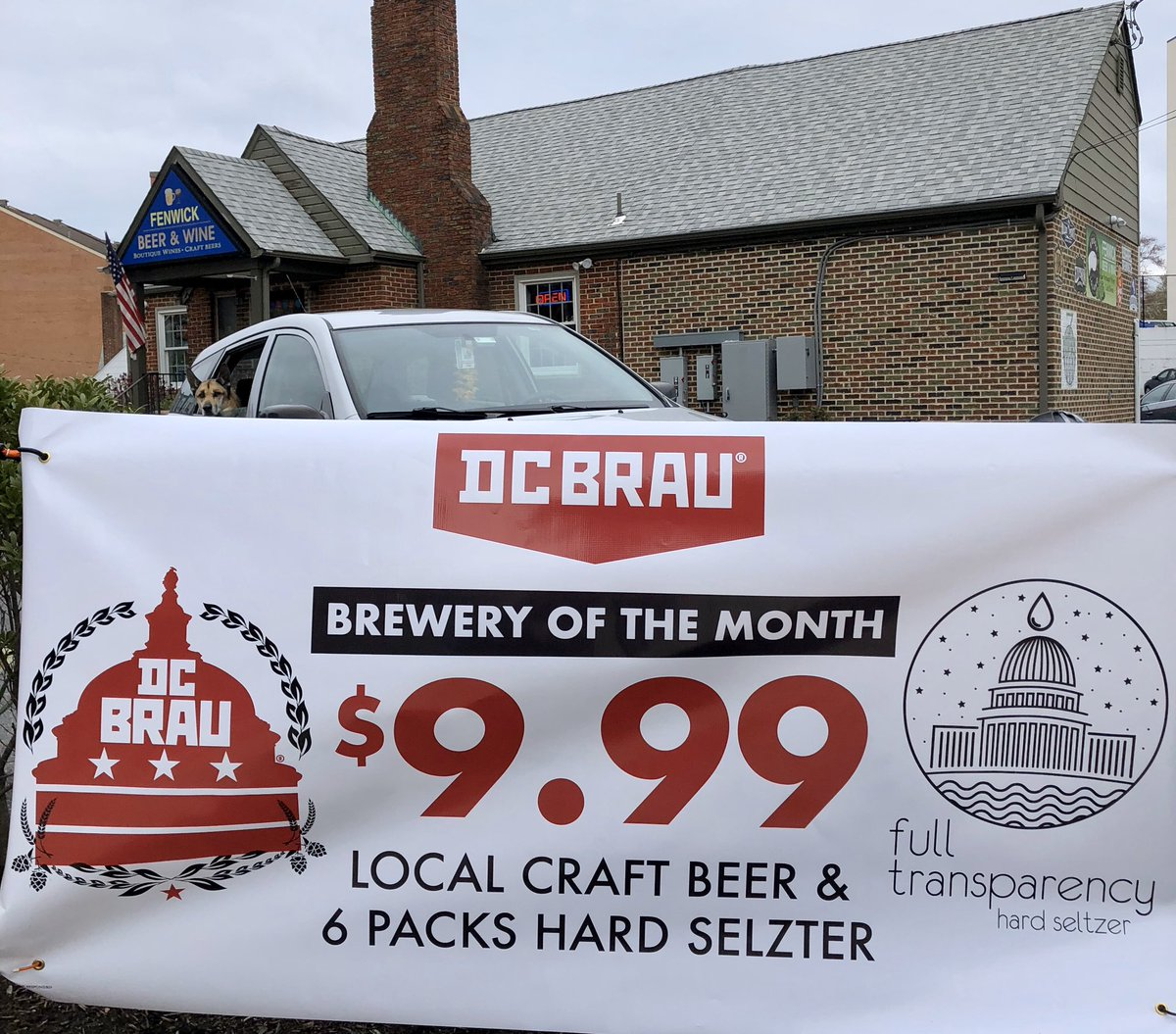 Not a April fool joke @dcbrau beer of the month $9.99/6pk all you want #StayHomeMaryland #StayHome #beer #drinklocal #CraftBeer #SilverSpring #dcbeer #dmv #Bethesda #dcbrews  #DTSS #drinklocal #craftbeerlife #instabeer #craftbeerfan  #microbrew #DrinkCraftBeerpic.twitter.com/OUCpCGrcVW