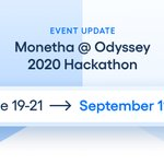 Image for the Tweet beginning: Odyssey Hackathon has been delayed