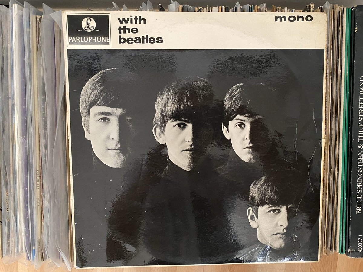 Day 12: it's back to the Beatles. Today is 'With the Beatles' (1963). Not their most famous early album but contains some absolute bops. Big recommend. #recordaday pic.twitter.com/sWPhWOLidV