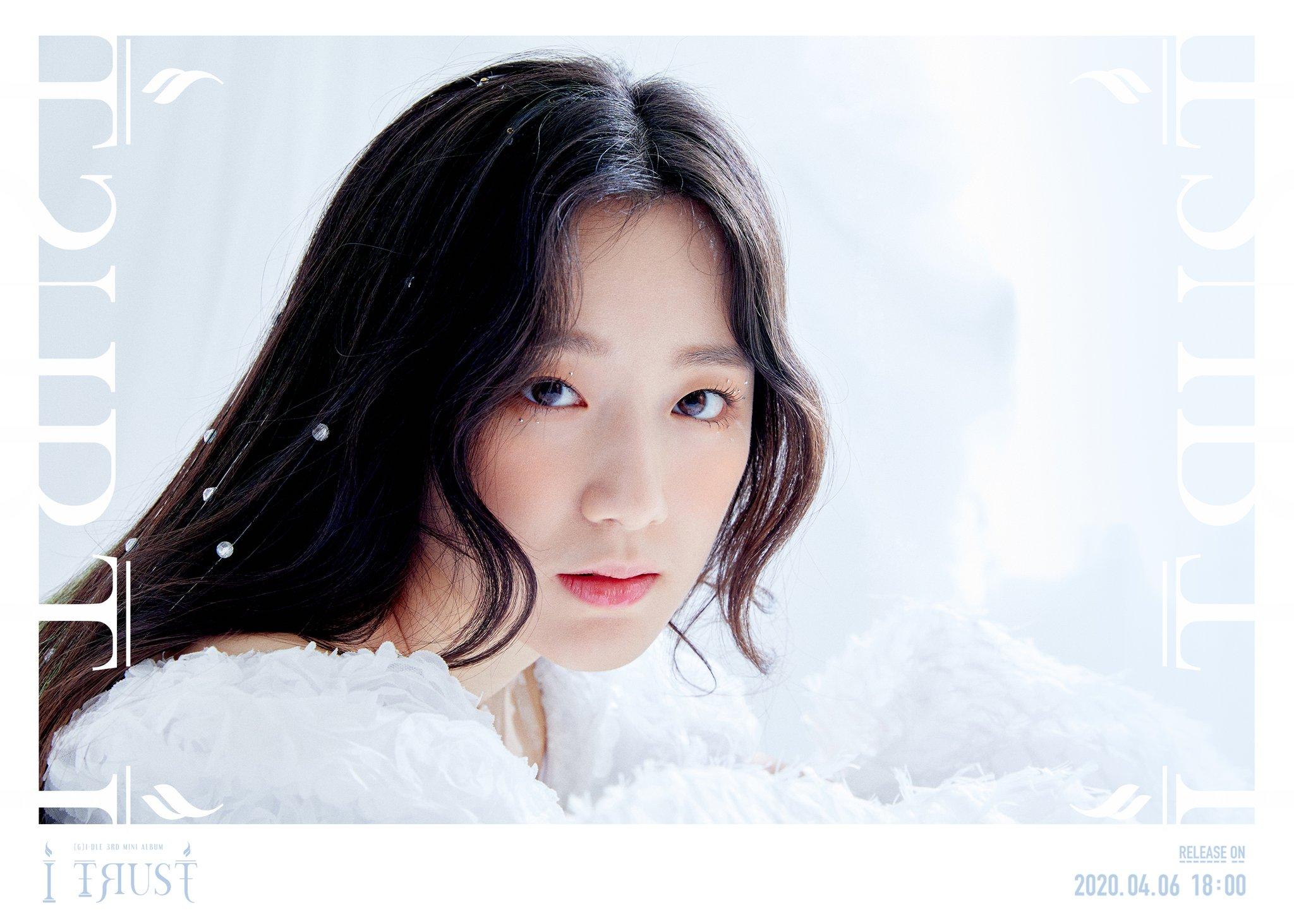 """G)I-DLE·(여자)아이들 on Twitter: """"(G)I-DLE 3rd Mini Album [I trust ..."""