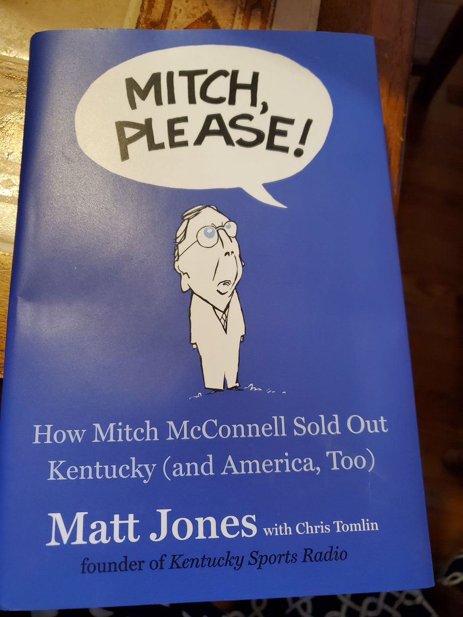 @KySportsRadio got my book today. Housecleaning will just have to wait pic.twitter.com/94vzD0nDRX