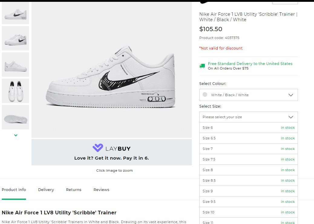 nike air force 1 white discount code