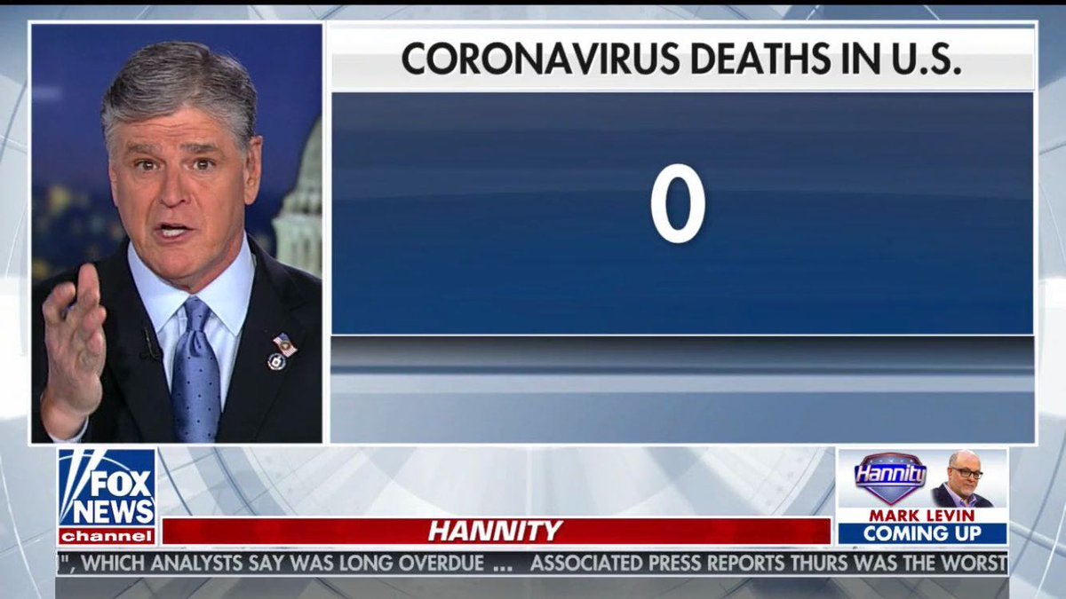If we ever open museums again, can we put this Feb 27 Hannity screenshot in one