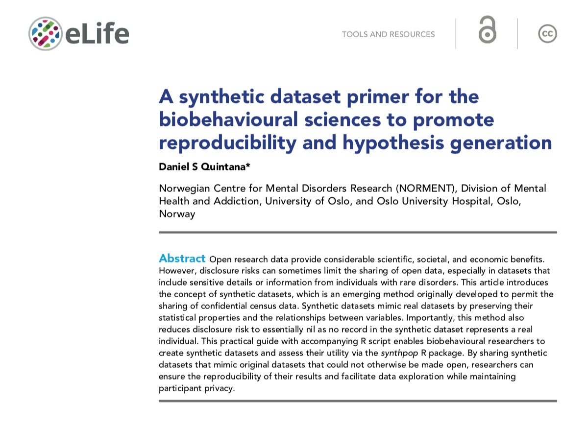 The typeset PDF + HTML versions of my @eLife synthetic dataset primer just came online 🎉elifesciences.org/articles/53275 🔓