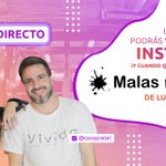 Image for the Tweet beginning: 🔴 ¡Arranca #MalasInfluencias! @CocoPretel y