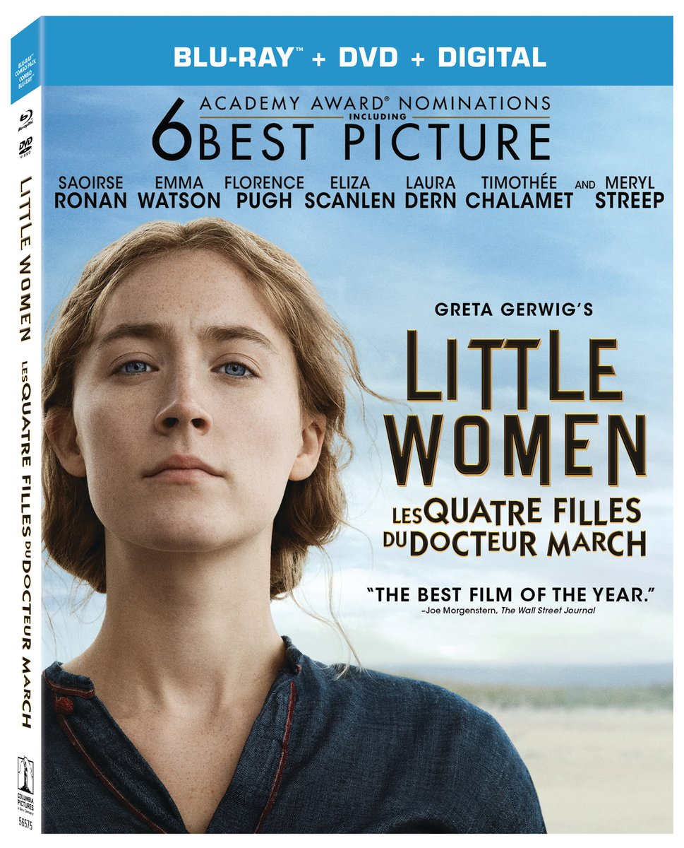Own your story. Follow us + RT to enter to #win a copy of Greta Gerwig's #LittleWomenMovie, available on Blu-ray April 7!<br>http://pic.twitter.com/2kaZyZrS5F