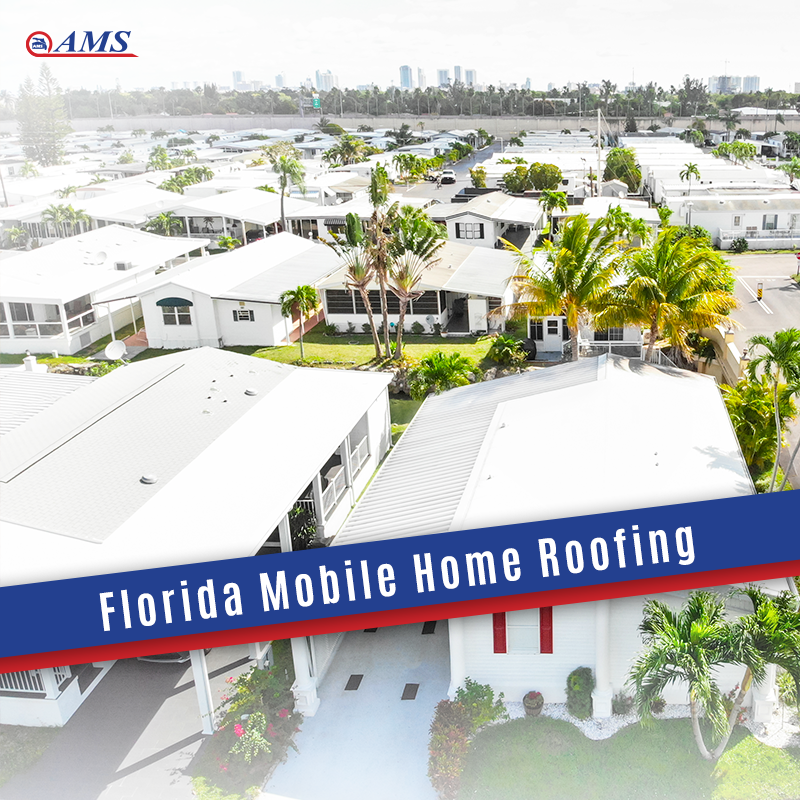 At AMS our primary goal is complete customer satisfaction. We provide our customers with the finest, up to date and the most energy-efficient products available. . . . #roofing #roof #mobilehouses #roofrepair #home #homeimprovement #design #contractor #florida #Miami #quality