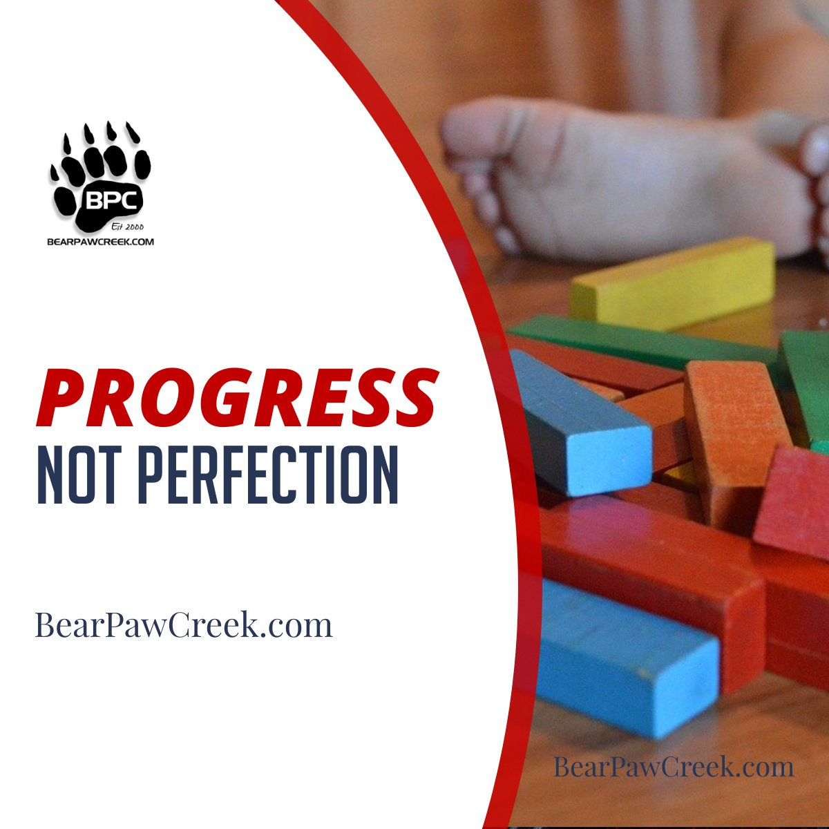 It's so easy to focus on where we want to be instead of what we've conquered! <3 #bearpawcreek #progressnotperfection #musictherapy #musicandmovement #nothingdownaboutit #momtruth #nothingisordinary #therapy #therapist #specialneedsmom #specialneedskids #movementpropspic.twitter.com/O9180bznNs