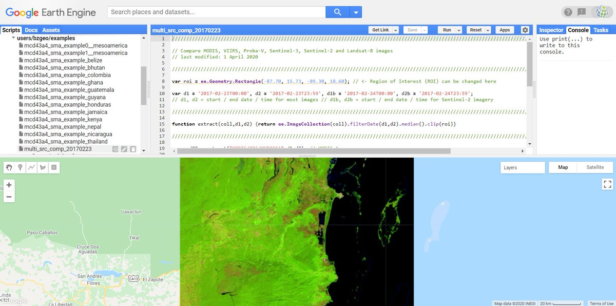 test Twitter Media - #ICYMI, @VITO_RS_ announced that @PROBAVegetation is going to be retired by 30.06.2020. The good news is that you can easily access the data in #GoogleEarthEngine. Here's a #Belize example: https://t.co/k0utIFRf5o.  Also see: https://t.co/nRURuM1oC1 https://t.co/4hB0ppdvcn https://t.co/A1umHY1lpu