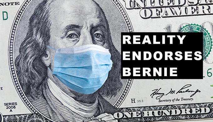 Bernie has always stood up to the greed of Big Pharma & fought for #M4All  Right now We need #M4All more than ever with so many people dying of #coronavirus. People should not have to die because they can't afford a doctor now or ever.  #M4AllSavesLives   #RealityEndorsesBernie<br>http://pic.twitter.com/4NQ5gfojft
