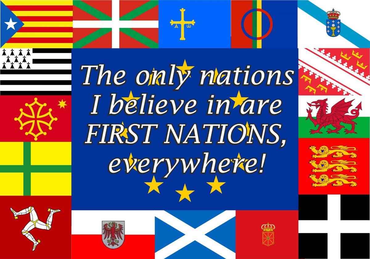 """Für mich ist die #Nation alter Prägung immer noch ein Nachhall aus dem 19. Jahrhundert. Wer so eine Staatsform toll findet, ist für mich unten durch. Die #EU ist für mich, was nach #Ostwestfalen als """"Lebensraum"""" für mich zählt. pic.twitter.com/bJV5Oo9C0e"""