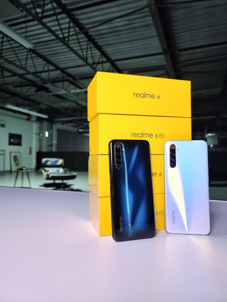 Here it is.. Retweet this tweet for your chance to win a Realme 6 or Realme 6 Pro. Good luck! https://t.co/VoWRs2XJgA