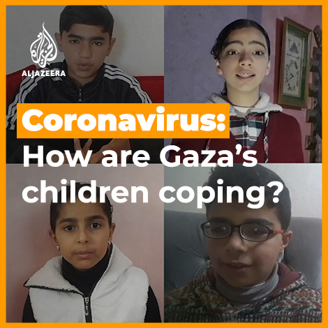 As the #COVID19pandemic sweeps across the globe, children in Gaza share their advice.
