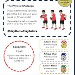 Image for the Tweet beginning: A PE challenge for the