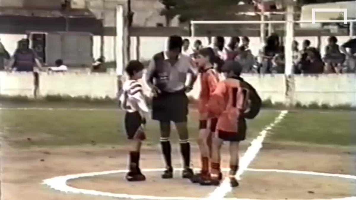 Come to watch Messi as a kid. Stay to marvel at the pitch and commentary