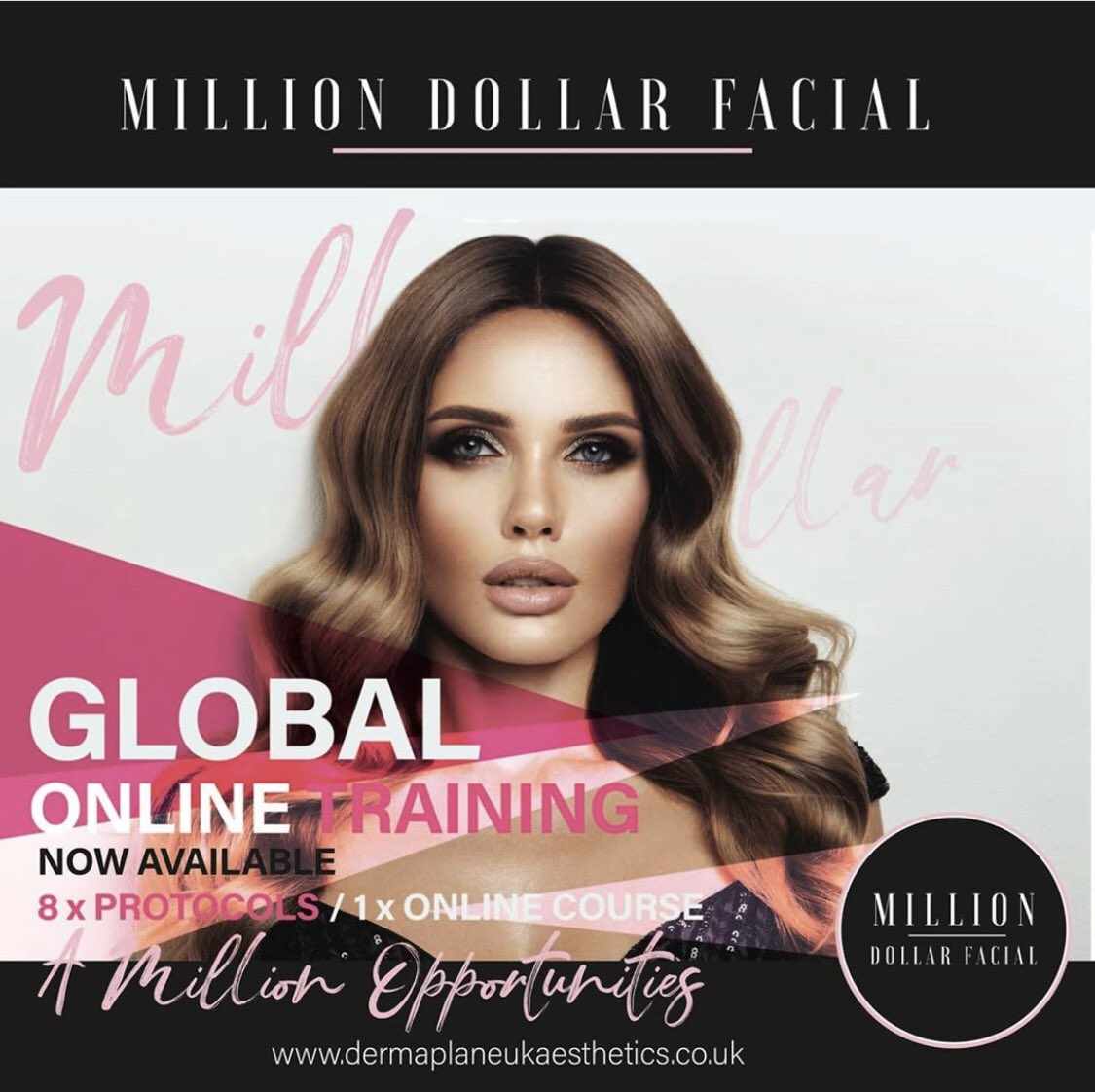 Global online training with us #MillionDollarFacial #skincare #DermaplaneUKpic.twitter.com/aG3CRoUVEe