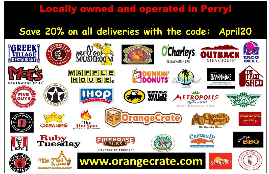 No fooling here! Save 20% on all restaurant deliveries this month, with the code: April20. Fast n fresh delivery from your favorite restaurants. Order now at http://www.orangecrate.com  and use the code at checkout. #FoodDelivery #Discounts #CouponCode #RobinsStrong #PerryProudpic.twitter.com/LlmJZyRuse
