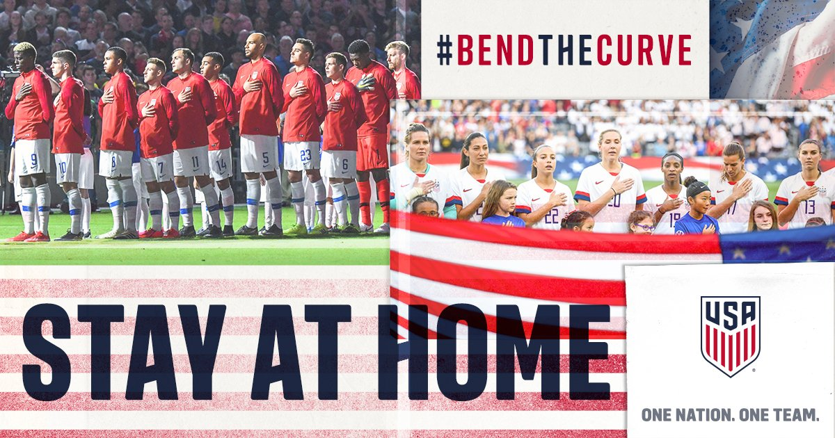 We are the home of the brave. Honor the brave. Stay at home. #BendTheCurve More info >> ussoc.cr/BendTheCurve