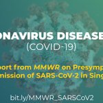 Image for the Tweet beginning: New @CDCMMWR report on #COVID19
