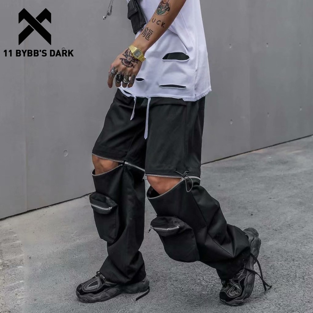 11 BYBB'S DARK 2020 Hip Hop Zipper Detachable Tactical Pants Men Multi Pockets Functional Streetwear Oversized Joggers Trousers https://linhcorner.com/product/11-bybbs-dark-2020-hip-hop-zipper-detachable-tactical-pants-men-multi-pockets-functional-streetwear-oversized-joggers-trousers/ …pic.twitter.com/bkElNWMiJA