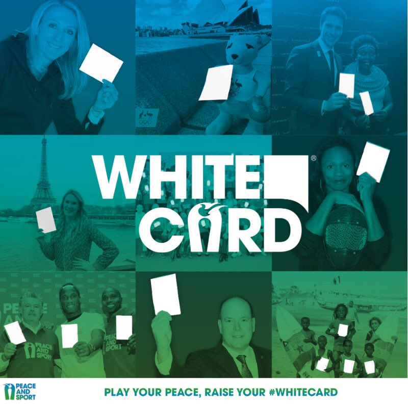 April6 is almost here. This year, raise your #WhiteCard for global solidarity and unity!◻️ Post your #WhiteCard and tell us a memory, an anecdote or a picture indicating how sport is positively impacting your life. 👉🏽#IDSDP2020 #stayathome