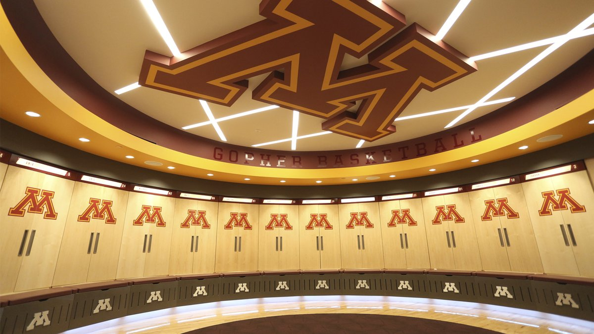 Present your new campaign from the @GopherMBB locker room.