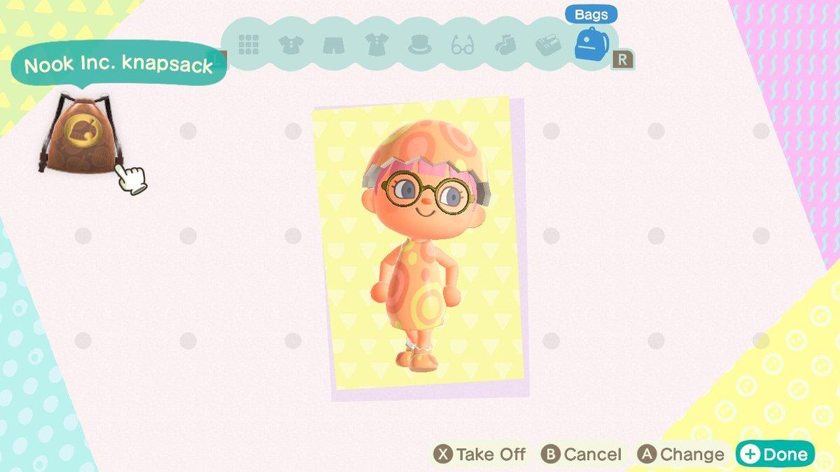 I look eggcellent #AnimalCrossing #ACNH #NintendoSwitchpic.twitter.com/wjO0jwBAfw