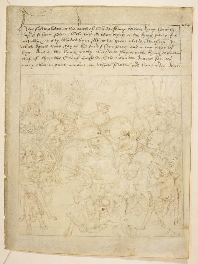 Have you ever heard of Richard Beauchamp, Earl of Warwick in the 15th century?   We know so much about him partly due to the survival of this unique manuscript, which illustrates the key events in his life.   And it's now online. #LetsGetDigital