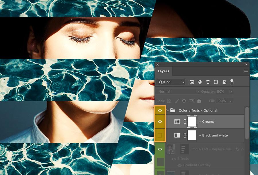 Crie seus próprios experimentos com cores no Photoshop:  0800 047 4493 | https://adobe.ly/2vN7Gfr