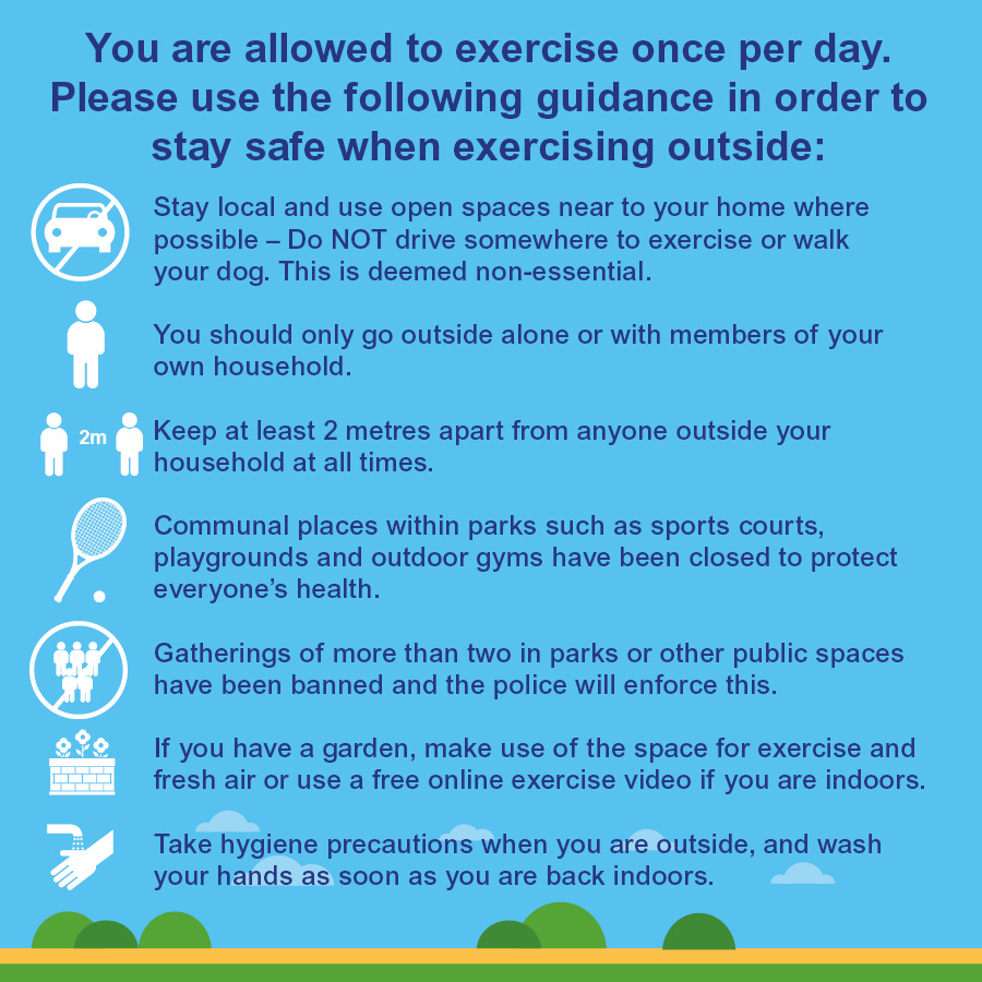 RT @WestBerkshire: 🌳 We want our beautiful parks and green spaces to stay open while you follow the national guidelines of daily exercise, but do not be irresponsible. Follow the government guidelines #stayhomestaysafe #socialdistancing