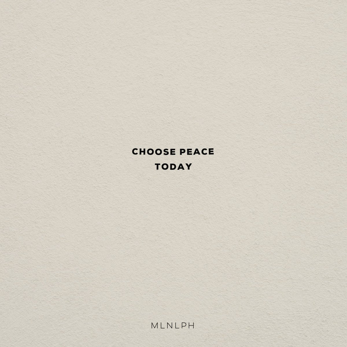 We know this can feel like chaos, but remember to choose peace today.