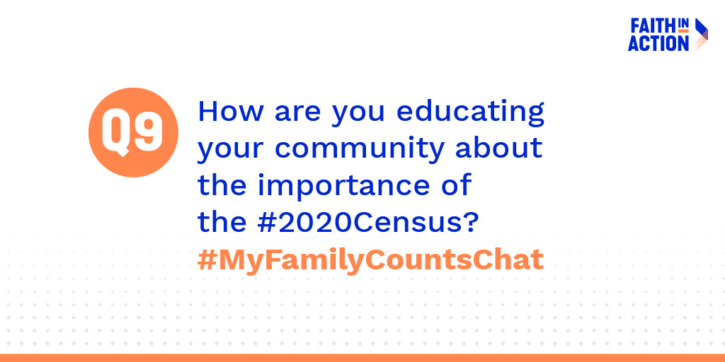 A9: AA and NHPI communities must be counted fairly and accurately in the upcoming #2020Census so that families have access to essential services. It's time for us to be counted and represented in government. #MyFamilyCounts #AAPI2020 #MyFamilyCountsChat