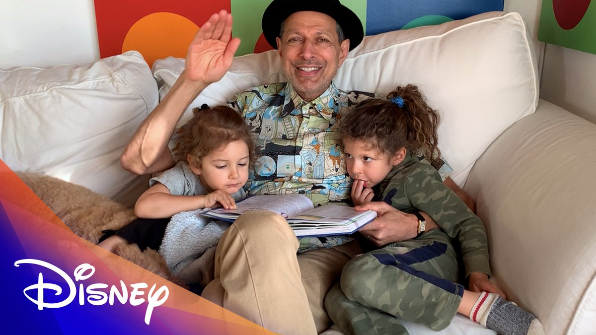 "Pinocchio, according to Jeff Goldblum! Settle in as he reads one of ""365 Bedtime Stories."""