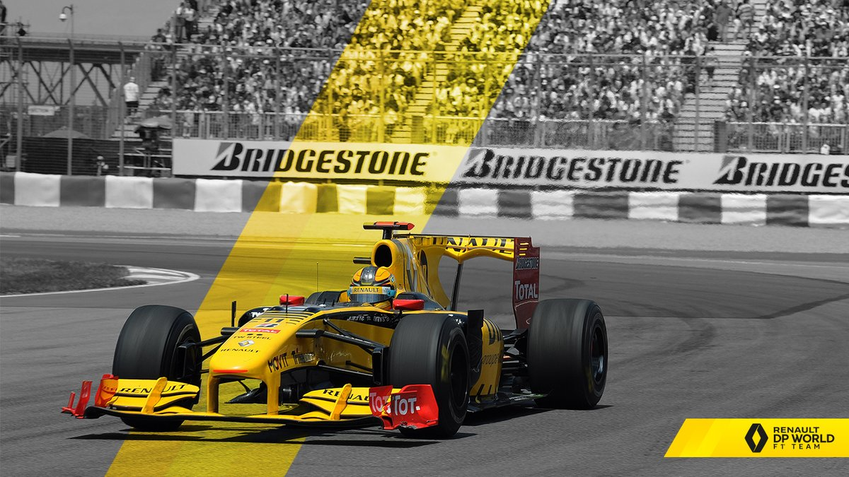 #WallpaperWednesday X 2010 📅  Robert Kubica driving the Renault R30 at the 2010 #CanadianGP where he finished 7th and set the fastest lap of the race. ⏱  #RSspirit #StayAtHome https://t.co/pOPrwHiH0f