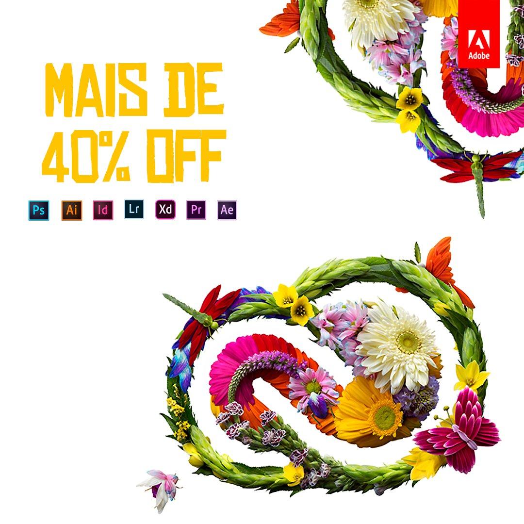🤩 Tenha todos os aplicativos Adobe originais com mais de 40% de desconto: https://adobe.ly/31SENxd