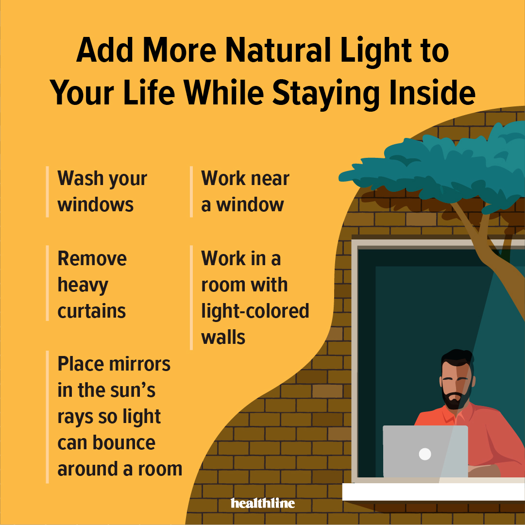 Its especially important these days to make sure youre still getting exposure to sunlight to boost vitamin D, help improve sleep, and ward off seasonal depression. More benefits on natural light and ways to get more of it: ter.li/wp25jx