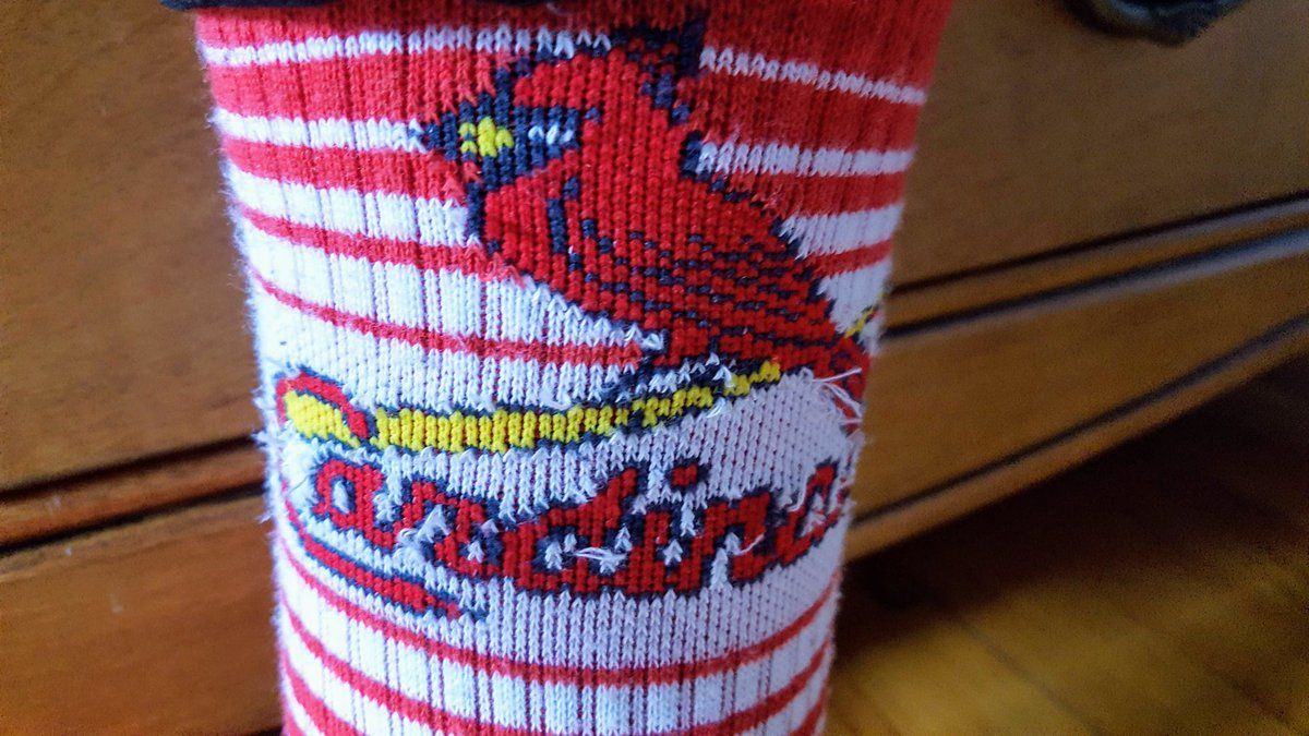 @lmsnation Crazy Sock Day AND School Spirit Day AND Favorire Sports Team Day in one sock??? No way! #LawrenceStrong