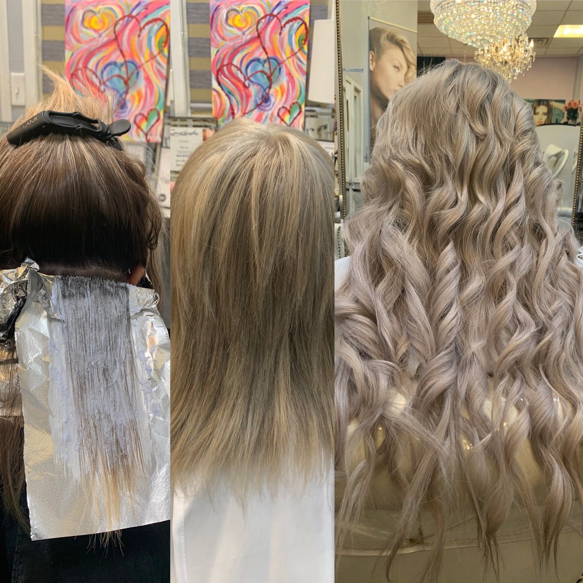 The hair ROOT & hair extensions Color corrections & NBR Hair Extensions during process . https://goo.gl/mF6nGB #Greatlengthsusa #modernsalon #hairdreams #dallascowboy #dallasmodels #bellamipro #beadedweftextensions #nbrextensions #behindthechair #hairUwear #colorcorrectionspic.twitter.com/f56G0ZntgY