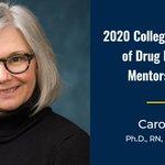 Image for the Tweet beginning: Dr. Carol Boyd was recently