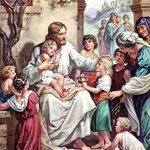 Image for the Tweet beginning: Jesus Loves the Little Children