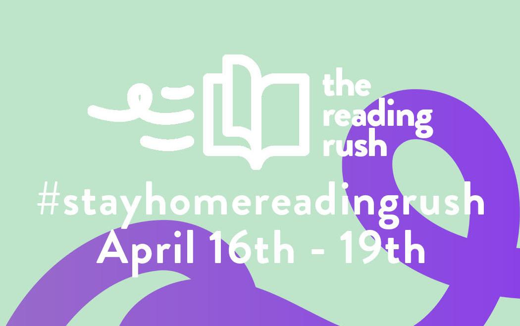 "The Reading Rush's tweet - ""Announcing the #stayhomereadingrush ..."