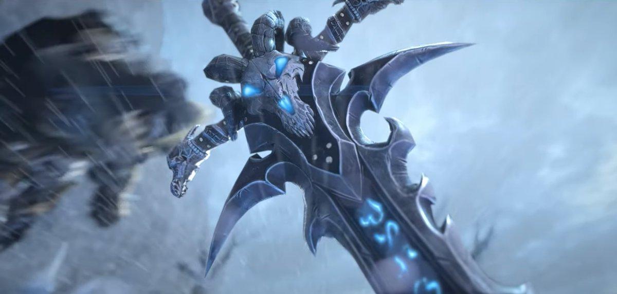 Altertime On Twitter Cinematica Illidan Vs Arthas Warcraft