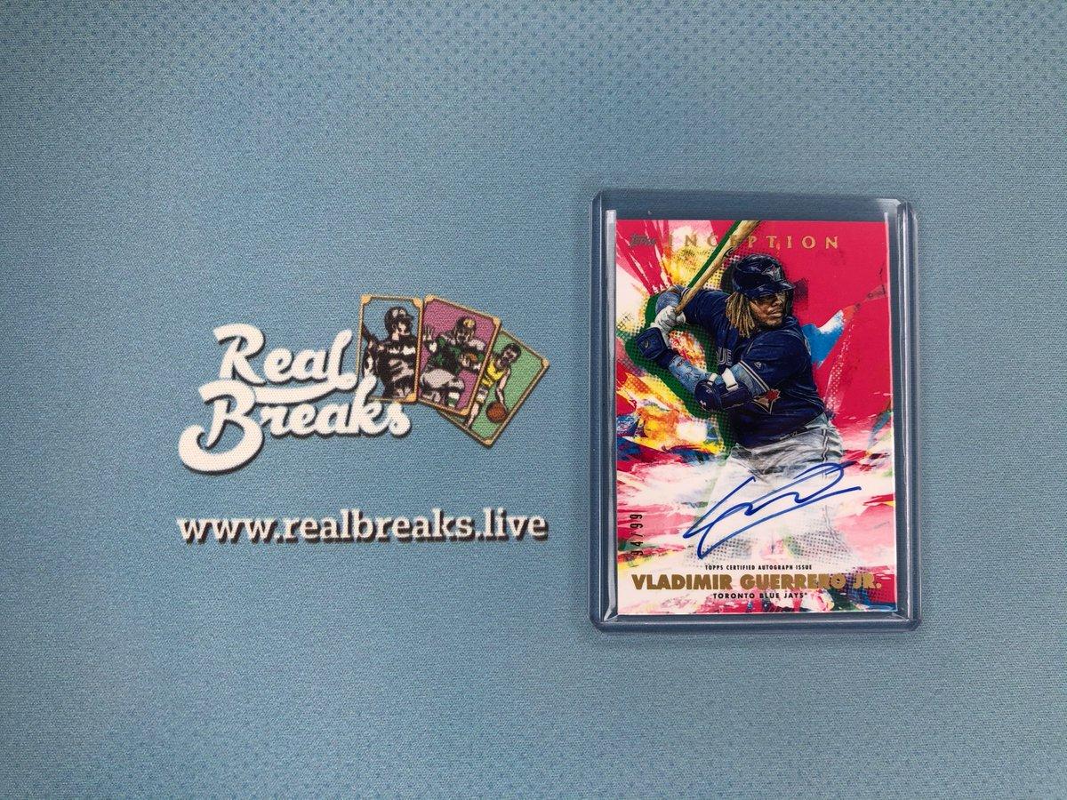 2020 Topps Inception Vladimir Guerrero Jr Magenta Auto /99 . . . @Topps #realbreaks #boompoodle #whodoyoucollect #topps #toppsbaseball #toppsinception #inceptionbaseball #casebreak #groupbreak #mlb #baseball #baseballcards #vladimirguerrerojr #vladjr #bluejays #bluejaysbaseballpic.twitter.com/f0SCnYoE3g