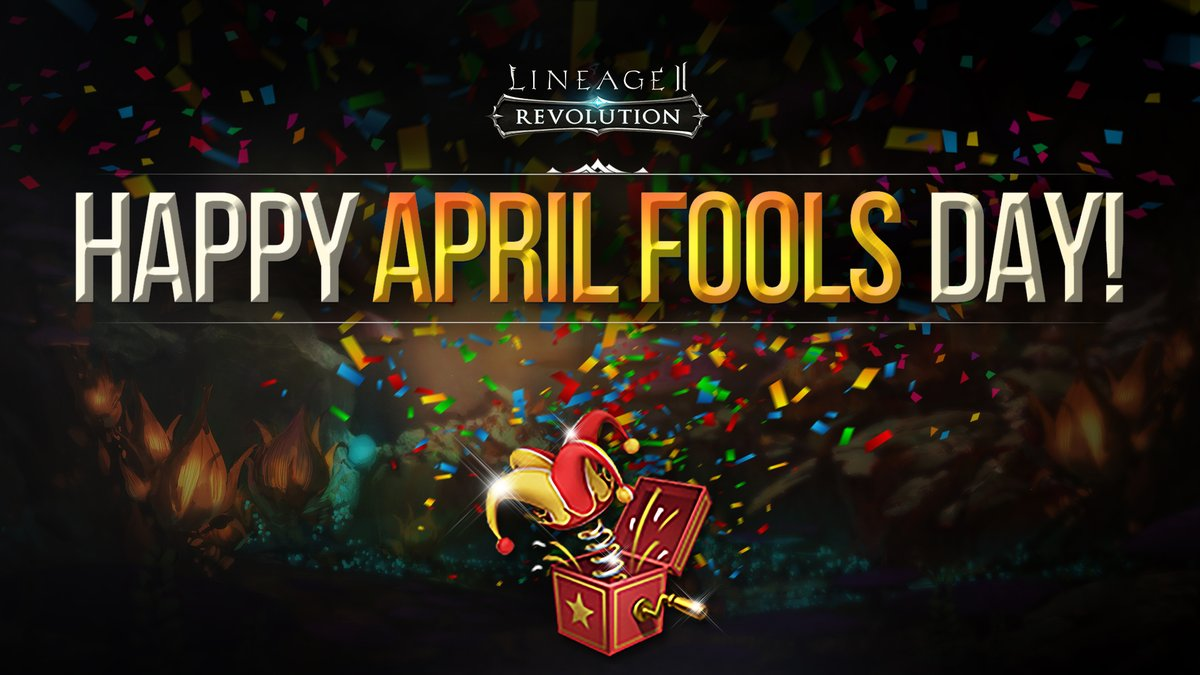 Hail Heroes!  In celebration of April Fool's Day, we've given away some April Fool's Surprise Boxes for logging in these past couple of days. But make sure to log in today for 7 April Fool's Surprise Boxes! This is not a joke! Log in and check your mailbox today! https://t.co/yTq2cev1xS