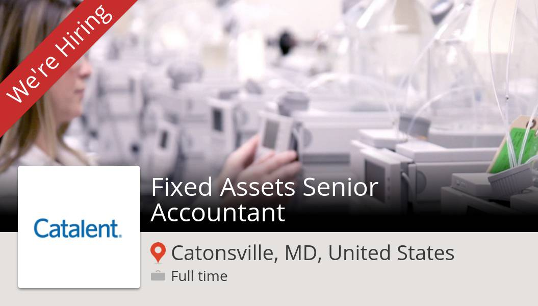 Fixed #Assets Senior #Accountant needed in #Catonsville, apply now at #Catalent! #job https://workfor.us/catalent/gz0gpic.twitter.com/s5vfNezIGC