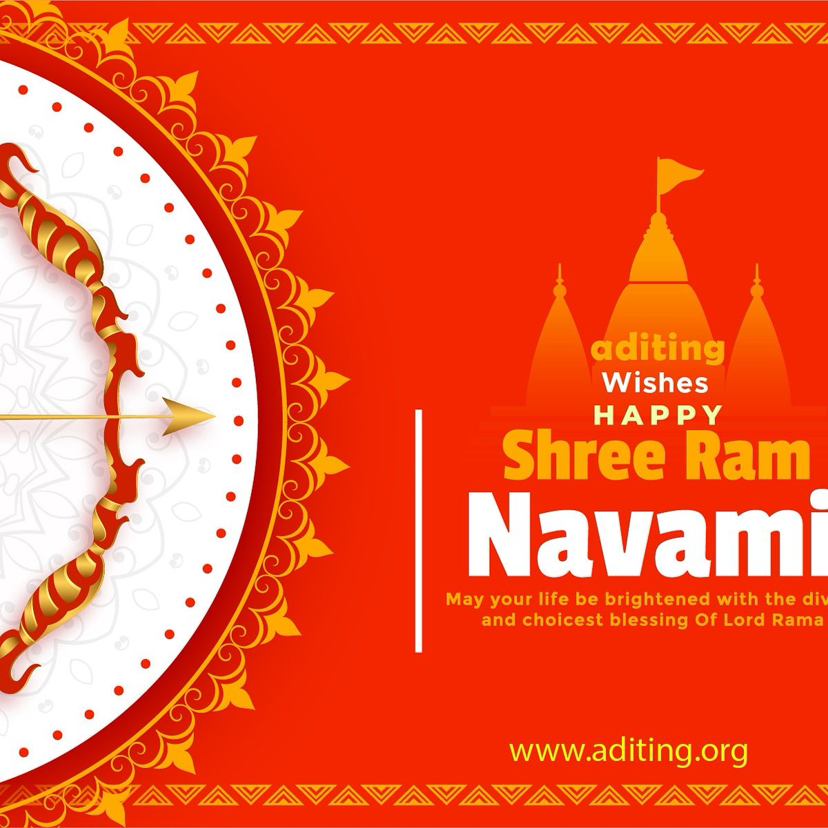 Aditing wishing you and your family a happy Ram Navami and may Gob bless you with joy and happiness  #Aditingofficial #Aditing #ForTheBusiness #Startupidea #Startupbusiness #shreeram #RamNavami2020 #RamNavamipic.twitter.com/ng0rZnFAZc