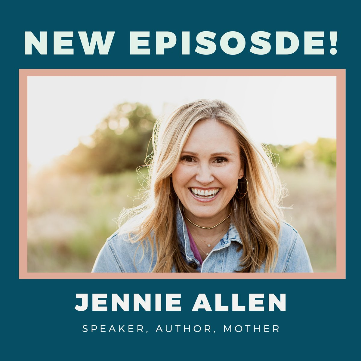 NEW EPISODE!! We got to sit down with Jennie Allen last week and hear her incredible journey of ministry and life! ALSO, we gave our thoughts on the best (and worst) quarantine advice, so basically you don't want to miss this one!!  https://podcasts.apple.com/us/podcast/whoa-thats-good-podcast/id1433974017…